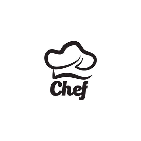 Chef hat design inspiration vector template