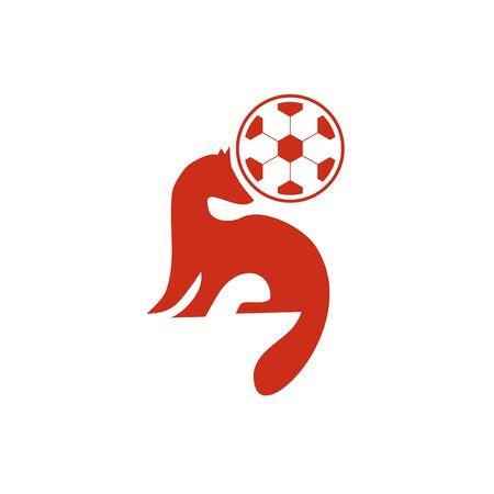 Fox design inspiration icon vector template