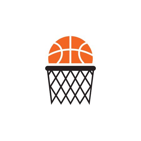 Basketball club logo design vector template illustration