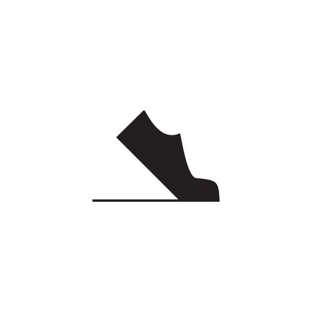 Shoes company icon logo design vector illustration template  イラスト・ベクター素材
