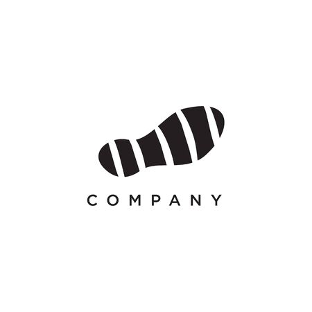Shoes company icon logo design vector illustration template 일러스트