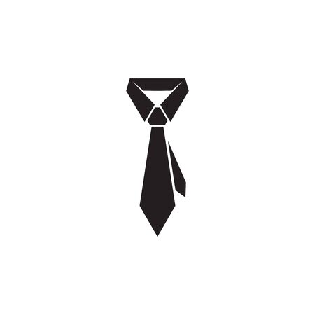 Tie logo icon design vector illustration template