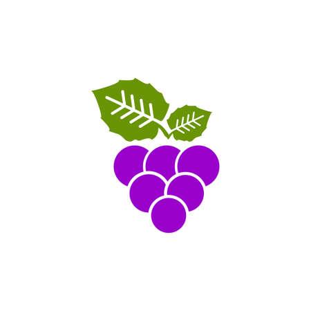 Grape fruit icon logo design vector template 写真素材 - 151458361