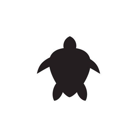 Turtle animal logo icon design vector template