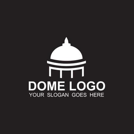 Dome logo icon design vector template