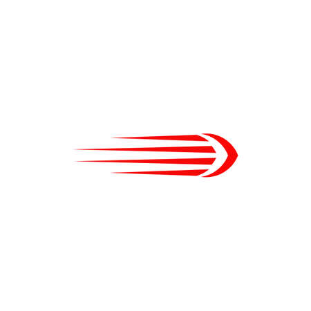 Speed arrow icon logo design vector template  イラスト・ベクター素材