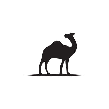 Camel animal logo design vector template  イラスト・ベクター素材