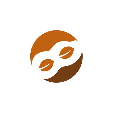 Rhino animal logo design vector template