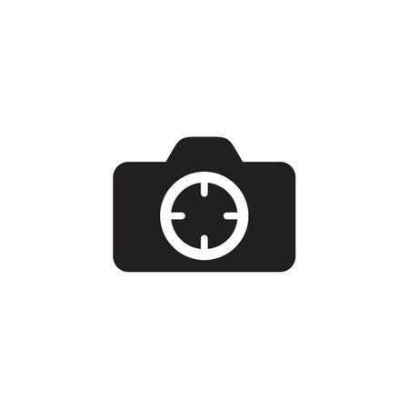 Camera photography logo design vector template 写真素材 - 156044857