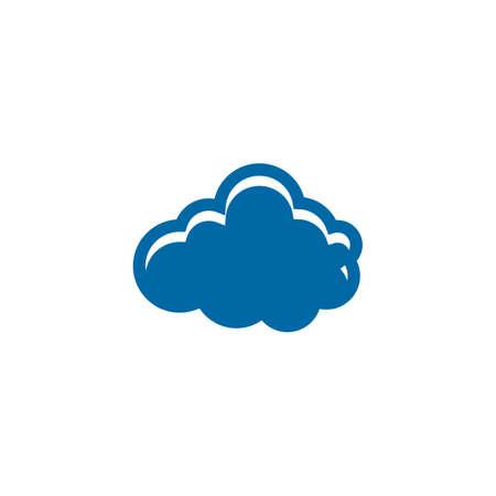 Cloud tech logo design vector template 写真素材 - 156185456