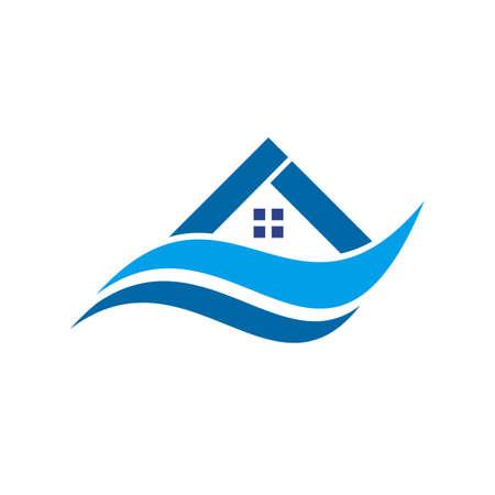 Home icon design vector template