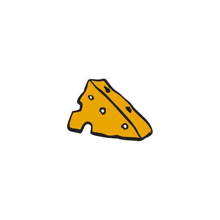 Cheese slice logo design vector template ЛОГОТИПЫ
