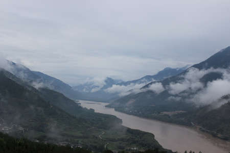 The first bay of the Yangtze River