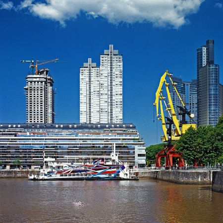 incidental people: Puerto Madero channel, Buenos Aries, Argentina