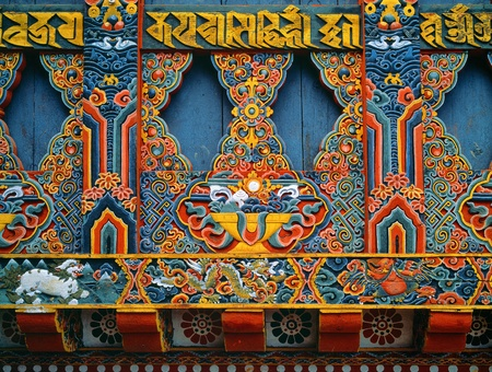 PARO, Bhutan - OKTOBER 2005 Taktsang Palphug Monastery ook wel bekend als The Tiger