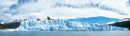 perito: Perito Moreno Glacier, El Calafate, Los Glaciares National Park, Santa Cruz province, Argentina Stock Photo