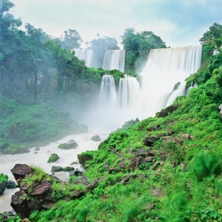 Iguazu waterfall, Porto Iguazu, Argentina photo