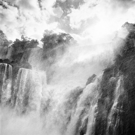 Iguazu waterfall, Porto Iguazu, Argentina photo
