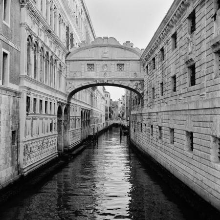 Italy  Venice  Bridge of Sighs