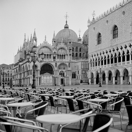 Italy  Venice St  Marco Square early in the morning
