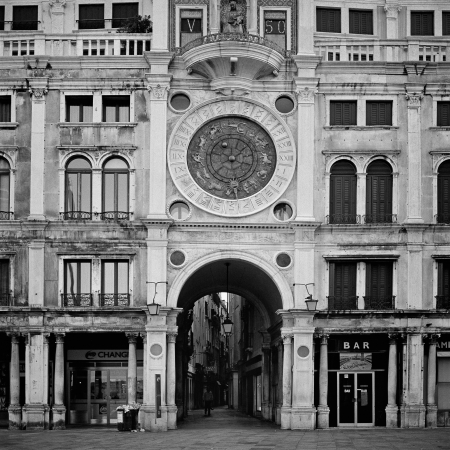 Italy  Venice St  Marco Square early in the morning photo
