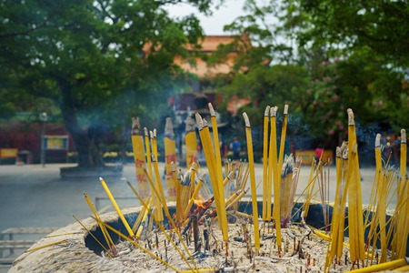 Incense sticks in Po Lin Monastery.