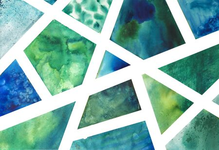 Hand drawn abstract watercolor background 写真素材