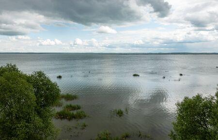 Lake Nero in the Yaroslavl region. The Golden ring of Russia.