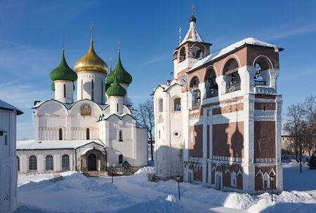 Cathedral of the Transfiguration of the Lord in the Savior Monastery of St. Euthymius Stok Fotoğraf