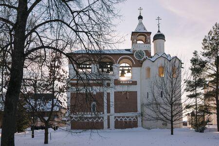 Spaso-Evfimiev mens monastery. Suzdal. Russia. Golden ring. Stok Fotoğraf