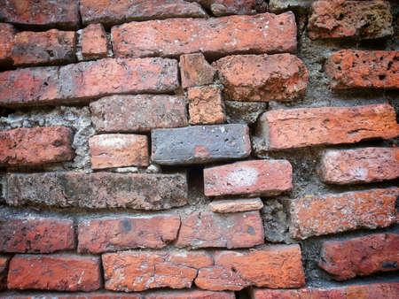grunge: Old brick wall texture pattern  background Stock Photo