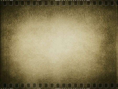 grunge: Vintage book cover brown flame and banner background