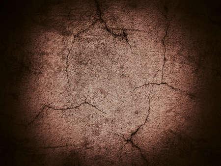 fondo cafe: Muro de cemento agrietado grunge fondo marr�n