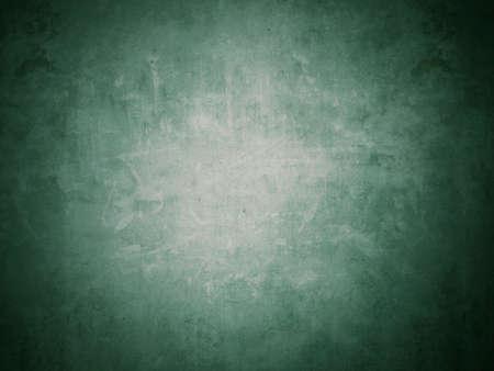 grunge: Dark green light effect grunge cement background and wallpaper