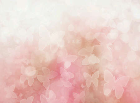 pink wallpaper: Pink butterfly blur background and wallpaper