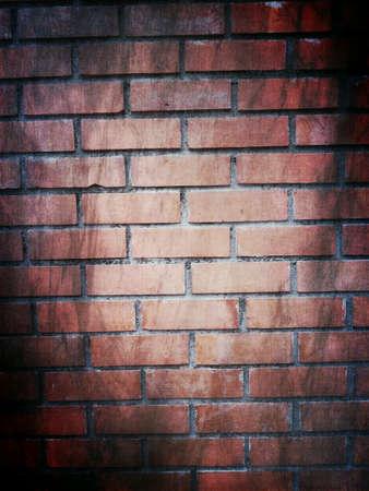 grunge: Halloween brick wall decorative background Stock Photo