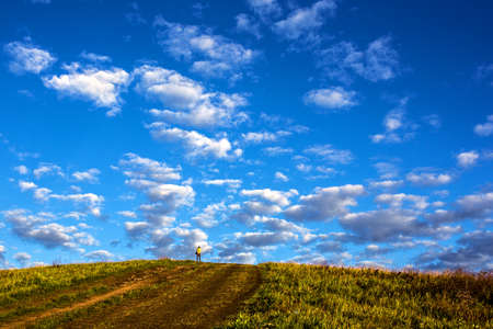 mongolia: Inner Mongolia BA landscape Stock Photo