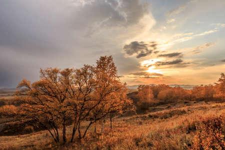 inner mongolia: Inner Mongolia dam fall scenery