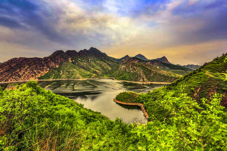 Spectacular view of nature scenery