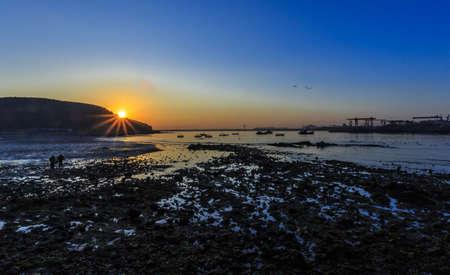 dun: Sunrise at Yan Dun Jiao  Swan Lake