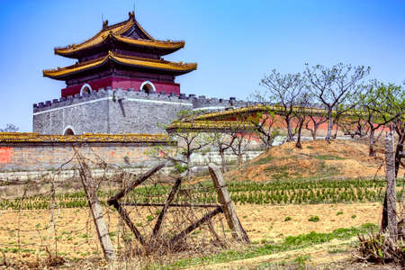 tumbas: Temple of the imperial tombs of the Qing dynasty tombs