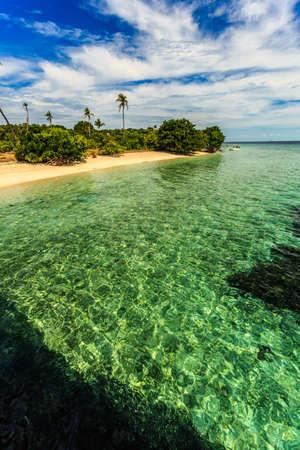 watermarks: Green sea water