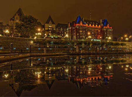 empress: Fairmont Empress hotel reflections Editorial