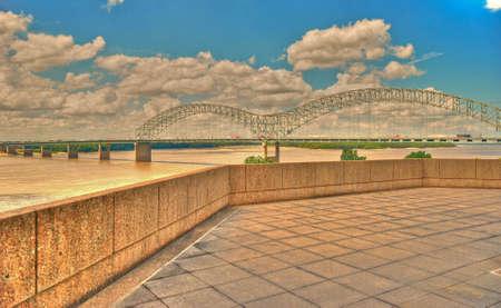 Řeka Mississippi Veranda Reklamní fotografie