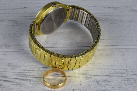 ring and a watch