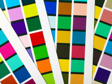 collate: Printer Color patches used for profiling, part of color management