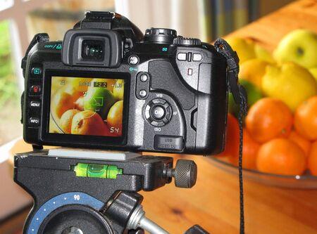 Macro food photography