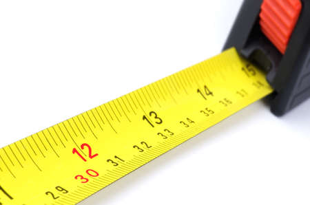 number 12: Tape measure; shallow focus, focus point is number 12 (one foot).