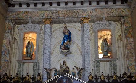 havana cuba: Virgin Mary in Havana Cathedral, Havana, Cuba