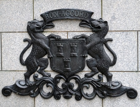city coat of arms: Coat of arms of City of Aberdeen